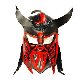 ルチャマスク(プロレスマスク)ブラック/レッド