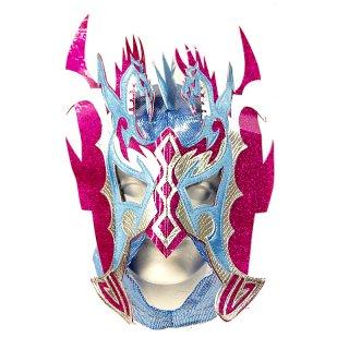 ルチャマスク(プロレスマスク)ブルー/パープル