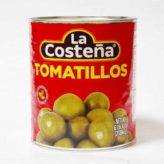 グリーントマトの水煮 2800g TOMATILLOS [La Costena]|メキシコ料理食材
