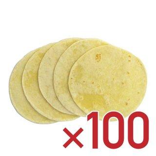 フラワー・トルティーヤ 100枚セット|トルティーヤ(タコスの皮)
