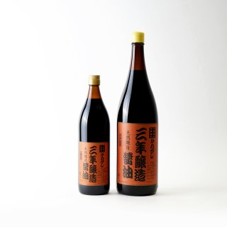 かめびし 三年醸造醤油 1.8L
