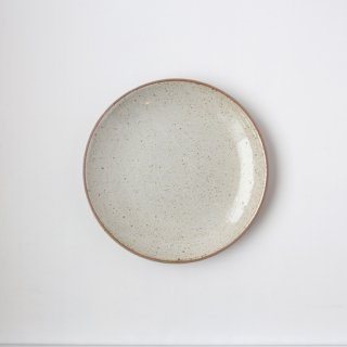 ONE KILN CERAMICS_CULTIVATE PLATE M(RF_White)