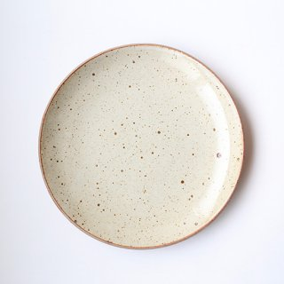 ONE KILN CERAMICS_CULTIVATE PLATE L(RF_White)