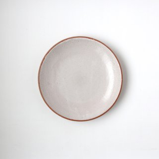 ONE KILN CERAMICS_CULTIVATE PLATE M(OF_White)