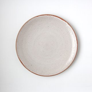 ONE KILN CERAMICS_CULTIVATE PLATE L(OF_White)