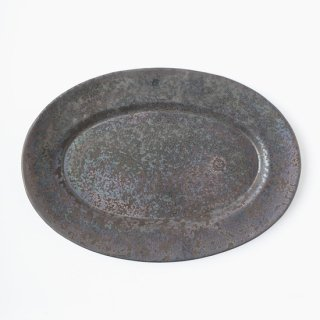 ONE KILN CERAMICS_OVAL PLATE L