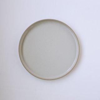 HASAMI PORCELAIN _PLATE Φ25.5cm(Gloss Gray)