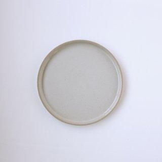 HASAMI PORCELAIN _PLATE Φ22cm(Gloss Gray)