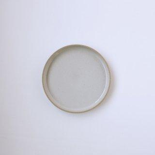 HASAMI PORCELAIN _PLATE Φ18.5cm(Gloss Gray)