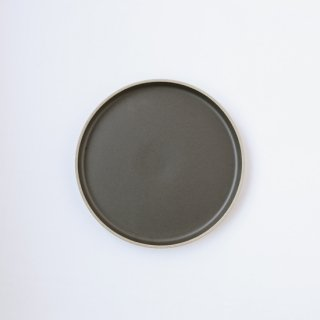 HASAMI PORCELAIN _PLATE Φ22cm(Black)