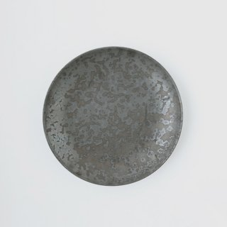 ONE KILN CERAMICS_Round plate L(Ash)