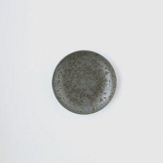 ONE KILN CERAMICS_Round plate S(Ash)