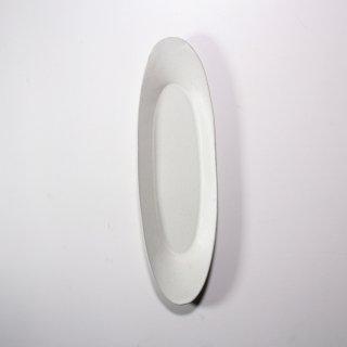 3RD CERAMICS_楕円皿(ホワイト:L )