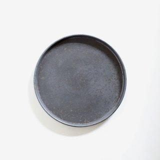 ONE KILN CERAMICS_Flat plate L(Ash)