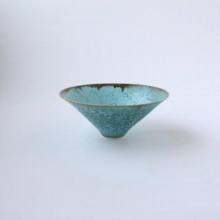 宮本めぐみ_トルコ釉浅鉢
