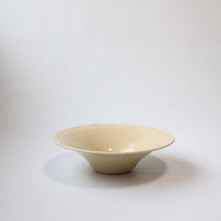 船串 篤司_灰釉鉢(白:24cm)