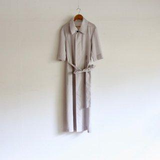 THE HINOKI_オーガニックコットンローン コートドレス