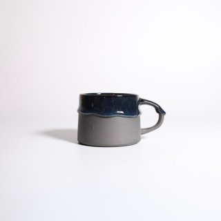 EIJI MIYAKI _  doripin mug ( Black × Black )