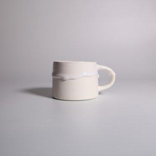 EIJI MIYAKI _  doripin mug ( White × White )