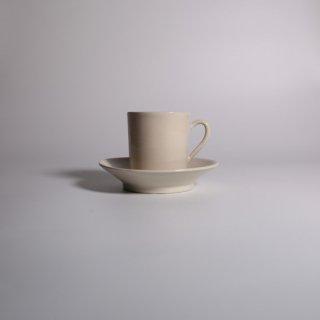 大浦 裕記_白錫_coffee cup & saucer