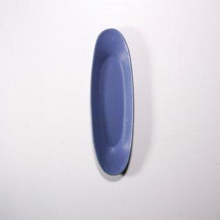 3RD CERAMICS_楕円皿(インディゴ:M )