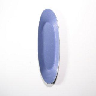 3RD CERAMICS_楕円皿( インディゴ:L )