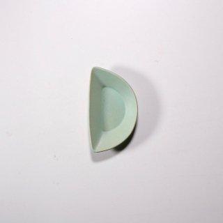 3RD CERAMICS_おつまみ皿(ターコイズ:H型)