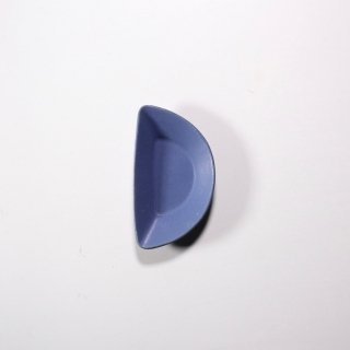 3RD CERAMICS_おつまみ皿(インディゴ:H型)