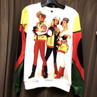 【ご予約商品】Salt-N-Pepa 90 90's hiphop 3D アーティストプリント スウェットシャツ トレーナー ソルトンぺパ ソルトンペッパー ソルぺパ