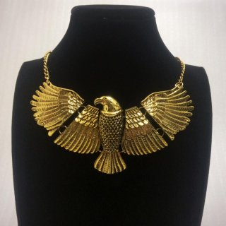 アフリカ アフリカン エジプト Egypt ホルス Horus ゴールド ネックレス