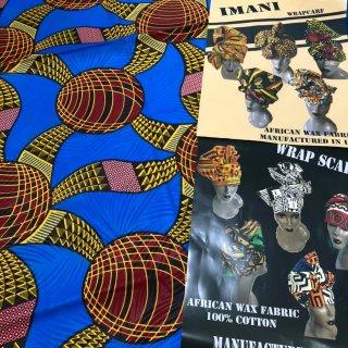 アフリカ布 アフリカ アフリカン ヘッドラップ ターバン アフリカンプリント Africa Head wrap