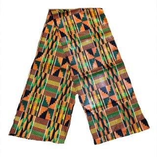 アフリカ布 ケンテ ヘッドラップ ターバン アフリカンプリント African print Kente Head wrap