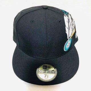 ≪委託商品≫New era FITTED cap ブラック ニューエラ キャップ フィテード