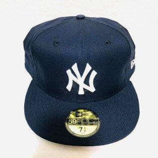 ≪委託商品≫New era FITTED cap MLB NY New York Yankees ネイビー ニューヨーク・ヤンキース ニューエラ キャップ フィテード