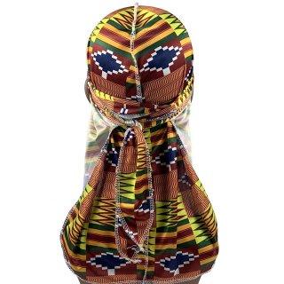 ユニセックス アフリカンプリント ドゥーラグ ヒップホップ ダンス ダンス衣装 Africanprint Du-rag hiphop old school dance