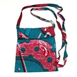 アフリカンプリント アフリカ布 サブバック ミニ ショルダーバッグ African print Bag