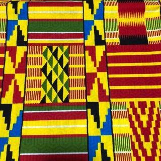 型押しプリント ワックスプリント アフリカ布 布 ハンドメイド パーニュ キテンゲ アフリカンバティック アフリカンプリント布 ケンテ Kente