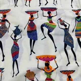 薄手素材 アフリカ布 布 ハンドメイド パーニュ キテンゲ アフリカンバティック アフリカンプリント布