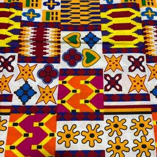 アフリカ布 布 ハンドメイド パーニュ キテンゲ アフリカンバティック アフリカンプリント布 アディンクラ Adinkra