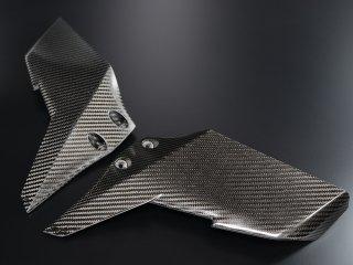 Ninja H2/H2R ドライカーボンウイングレット/トップ