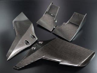 Ninja H2/H2R ドライカーボンウイングレット/トップ&サイド