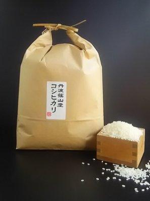 丹波篠山産 玄米(減農薬 コシヒカリ) 5kg (お好みに精米してお届け)