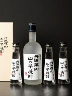 丹波篠山 山の芋焼酎® 小瓶 130ml