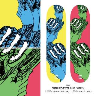 SUSHI COASTER BLUE / SUSHI COASTER GREEN