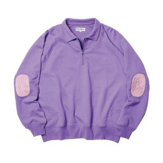 FUKUWARAI ZIP SWEAT
