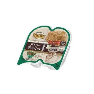 ニュートロ デイリーディッシュ 成猫用 パテタイプ サーモン&チキン  75g
