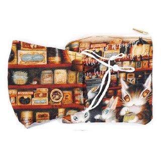 わちふぃーるど 猫のダヤン マスク&ポーチセット グロッサリー