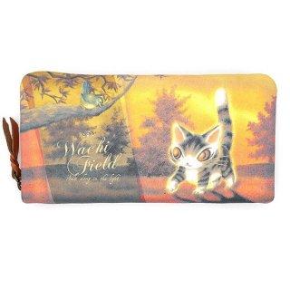 わちふぃーるど 猫のダヤン 光の猫長財布