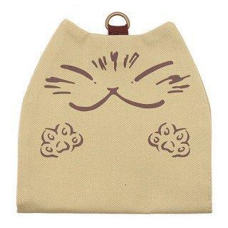 わちふぃーるど 猫のダヤン 抗ウイルス猫型マスクケース ベージュ