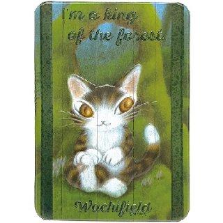 わちふぃーるど 猫のダヤン ポップアップウォールステッカー 森の王さま